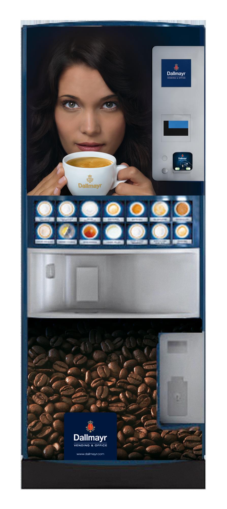 Dallmayr Kaffeeautomaten für Unternehmen entdecken