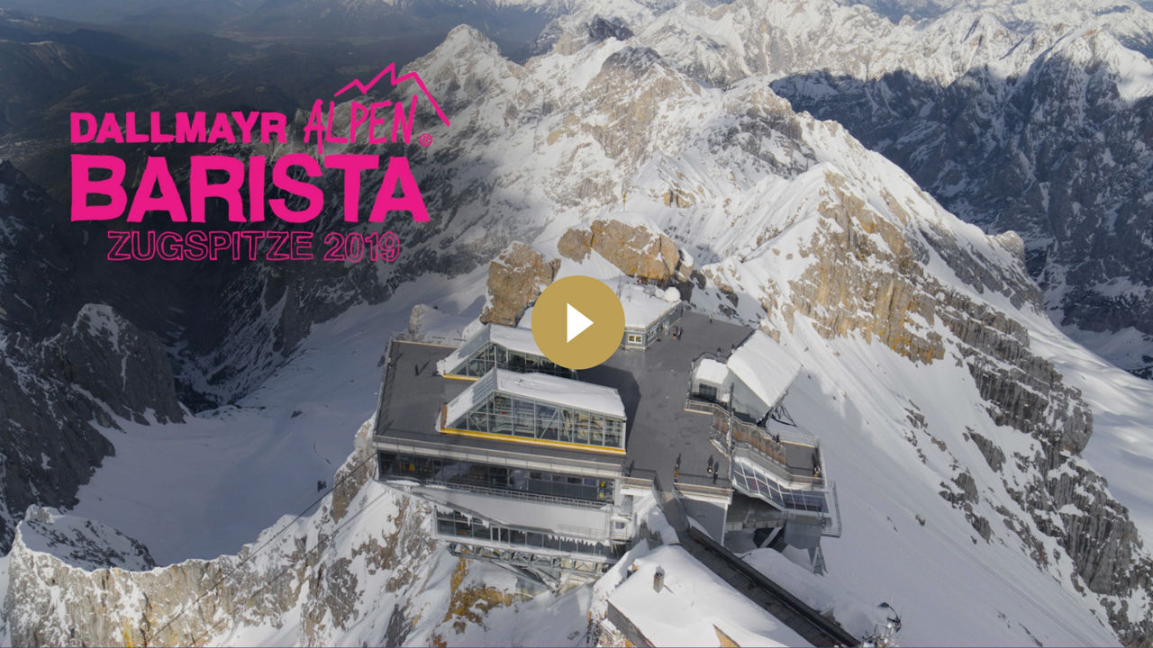 Dallmayr Alpen Barista Zugspitze 2019 Video