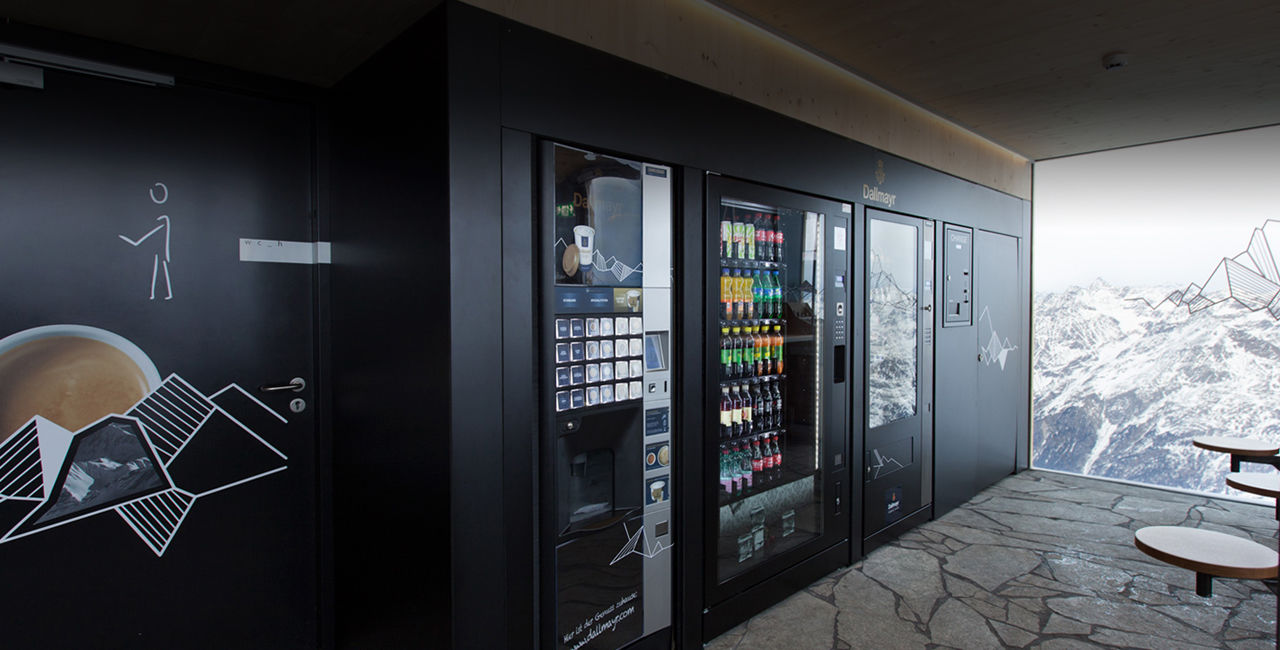 Coffee and vending machine solutions